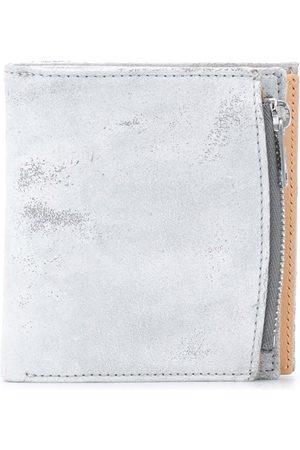 Maison Margiela Men Wallets - Four-stich bi-fold wallet - Grey