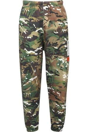 Heron Preston Camo Cotton Jersey Sweatpants