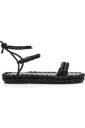 VALENTINO GARAVANI The Rope ankle-tie sandals