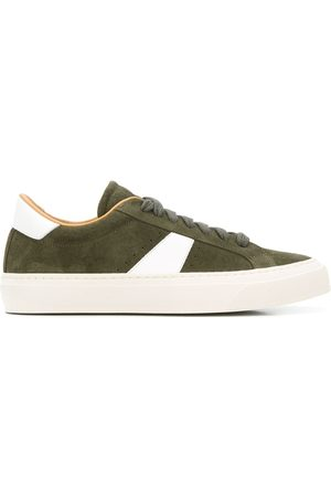 Scarosso Contrast panels low-top sneakers