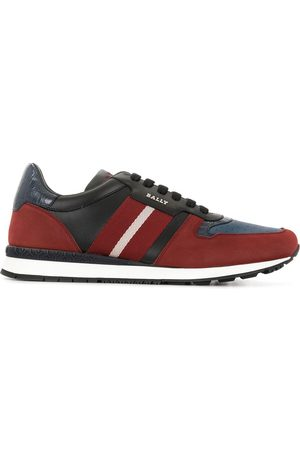Bally Contrast-panel low-top trainers