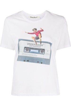 UNDERCOVER Mixed-tape print T-shirt