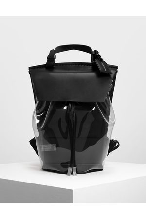 CHARLES & KEITH Vinyl Detail Backpack