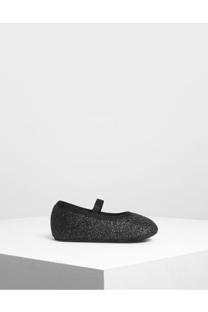 CHARLES & KEITH Kids Glittery Mary Janes