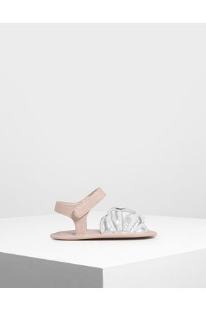 CHARLES & KEITH Baby Girls' Seashell Sandals