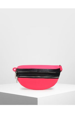CHARLES & KEITH Chain Link Fanny Pack