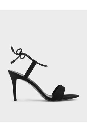 CHARLES & KEITH Women Sandals - Ankle Tie Stiletto Sandals