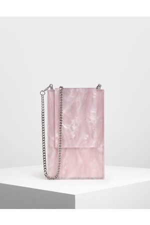 CHARLES & KEITH Women Clutches - Resin Clutch