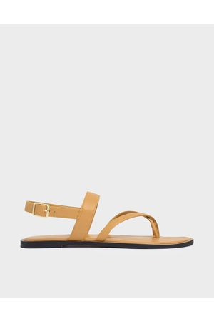 CHARLES & KEITH Toe Strap Thong Sandals