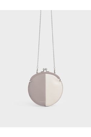 CHARLES & KEITH Two-Tone Coin Pouch