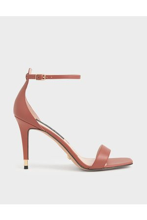 CHARLES & KEITH Leather Stiletto Heels