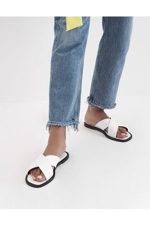 CHARLES & KEITH Sandals - Criss Cross Slide Sandals