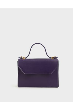 CHARLES & KEITH Mini Top Handle Clutch