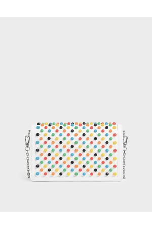 CHARLES & KEITH Studded Clutch