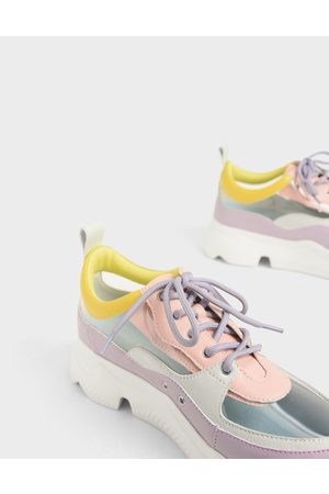 CHARLES & KEITH Women Sneakers - See-Through Chunky Sneakers