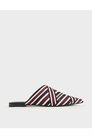 CHARLES & KEITH Multicoloured Grosgrain Mules