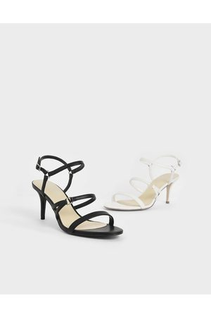CHARLES & KEITH Triple Strap Stiletto Heels