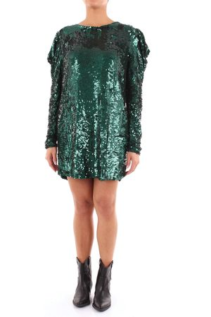 PAROSH Short Women Emerald