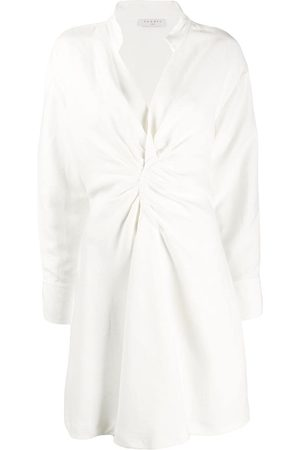 Sandro Gathered detail shirt dress