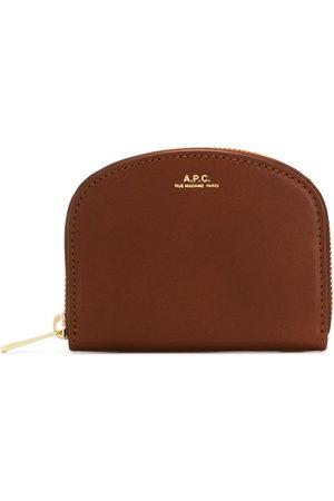 A.P.C Women Wallets - Zip around purse