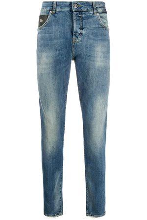 John Richmond Men Slim - Slim-fit logo print jeans