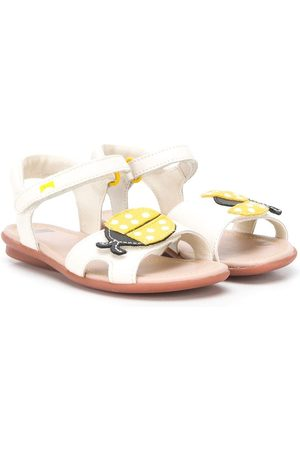 Camper Kids Girls Sandals - Appliqued sandals - Neutrals