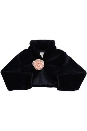 Charabia Girls Boleros - Faux Fur Bolero