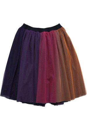 Charabia Girls Skirts - Degradé Tulle Midi Skirt