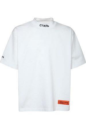 Heron Preston Men T-shirts - Mock Ctnmb Ss Cotton Jersey T-shirt