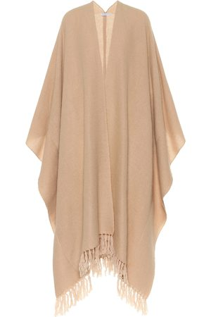 Brunello Cucinelli Cashmere and mohair-blend poncho