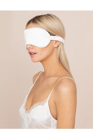 Agent Provocateur Women Headbands - Amelea Eyemask In Ivory SIlk With Lace
