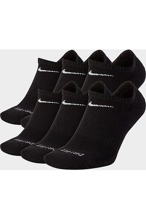 Nike Everyday Plus Cushioned 6-Pack No-Show Training Socks in