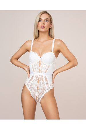 Agent Provocateur Women Corsets - Jorja Body Corset in Leavers Lace