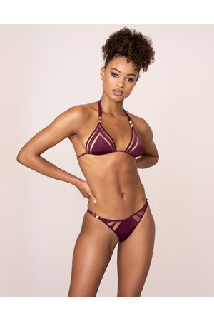 Agent Provocateur Women Bikinis - Tora Bikini Bottom In Plum