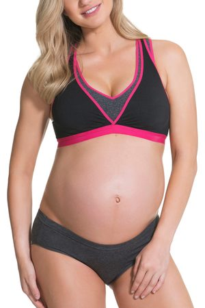 Angel Maternity Women's Lotus Yoga Pumping Nursing Bra