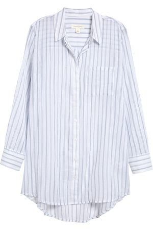 Treasure & Bond Women's Stripe Woven Tunic