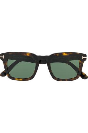 Tom Ford Square - Tortoiseshell square-frame sunglasses