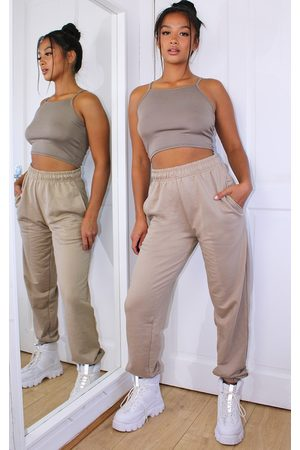 PRETTYLITTLETHING Petite Biscuit Casual Joggers