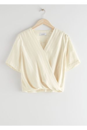 & OTHER STORIES Boxy Wrap Blouse