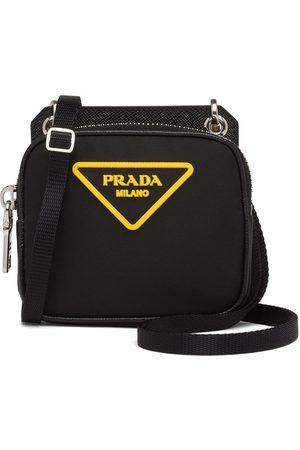 Prada Men Bags - Nylon and saffiano leather pouch