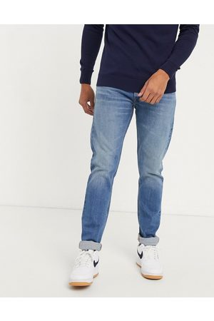 Lee Slim - Jeans Luke slim tapered jeans in light wash-Navy