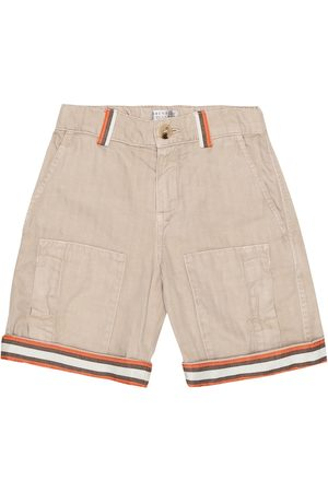 Brunello Cucinelli Exclusive to Mytheresa – Cotton-gabardine Bermuda shorts