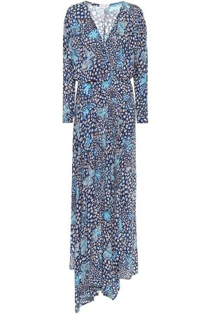POUPETTE ST BARTH Ilona printed asymmetric maxi dress