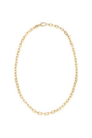 Monica Vinader Women Necklaces - Gold Alta Capture Mini Link Necklace