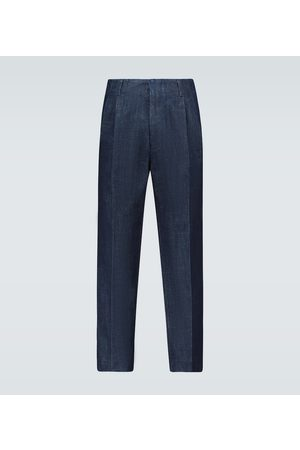 Ami Single-pleated pants