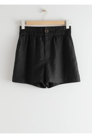 & OTHER STORIES Relaxed Jacquard Shorts