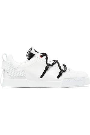 Dolce & Gabbana Portofino logo-embossed sneakers