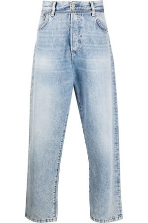 Acne Studios Men Relaxed Fit - Belted loose-fit jeans