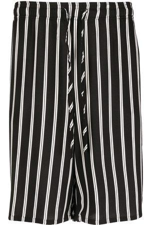 ESTEBAN CORTAZAR Striped Bermuda shorts