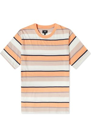 Edwin Men T-shirts - Quarter Stripe Tee